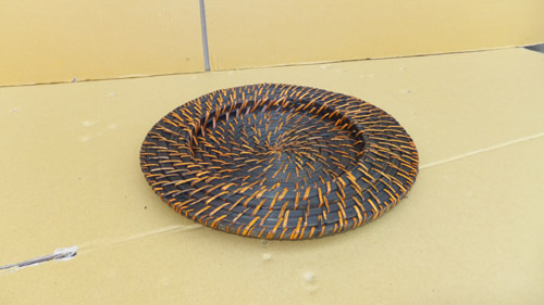 Natural Wicker Decorative Plate