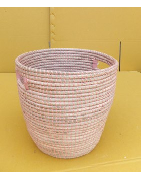 Braided Rattan Basket