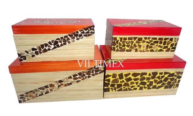 Eco-Friendly Bamboo Boxes